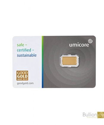 1 Gram Umicore Gold Bar