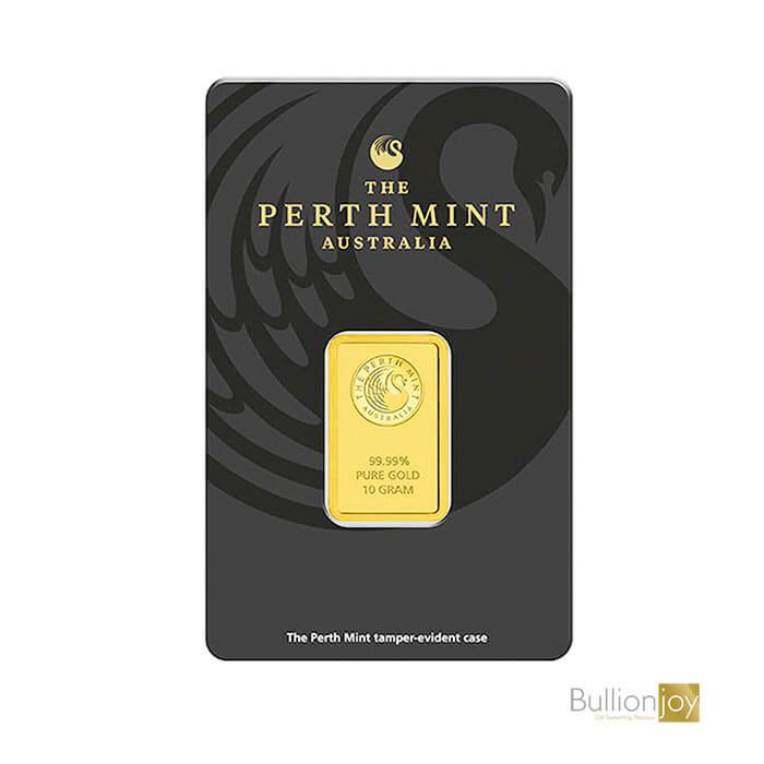 10 Grams Pure Gold Bar by The Perth Mint