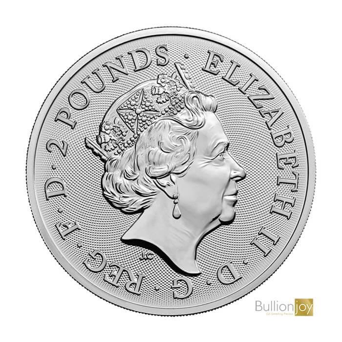 2017 1 oz Landmarks of Britain Big Ben Silver Coin qu
