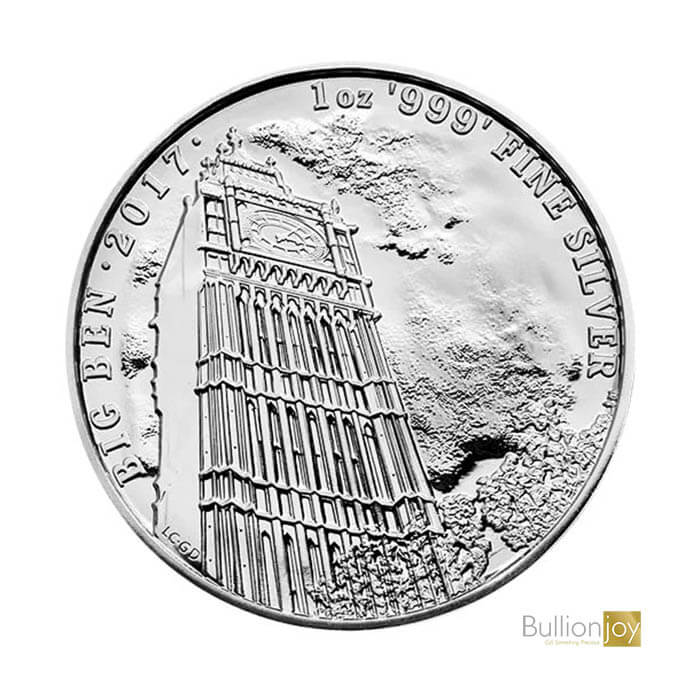 2017 1 oz Landmarks of Britain Big Ben Silver Coin