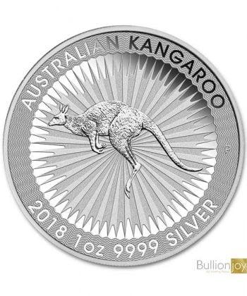 2018 1 oz Australian Kangaroo Silver Coin