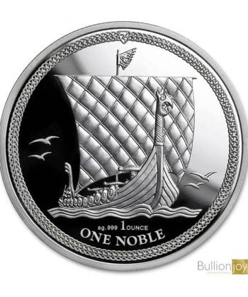 2018 1 oz Isle of Man Noble Proof Silver Coin