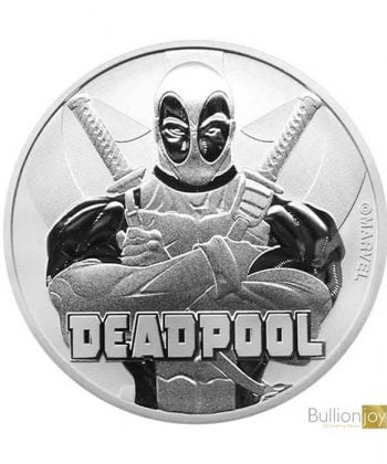 2018 1 oz Marvel Deadpool Silver Coin