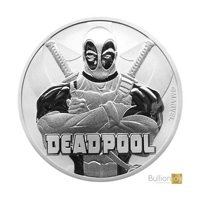 2018 1 oz Marvel Deadpool Silver Coin