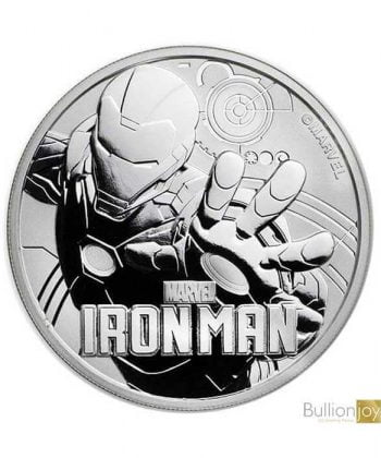2018 1 oz Marvel Iron Man Silver Coin
