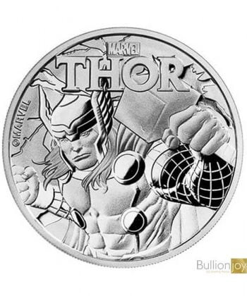 2018 1 oz Marvel Thor Silver Coin