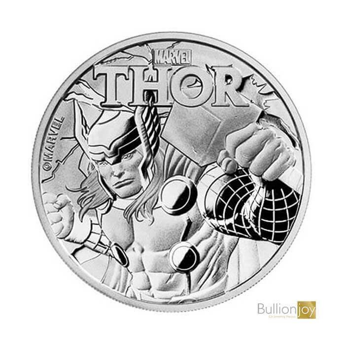 2018 1 oz Marvel Thor Silver Coin