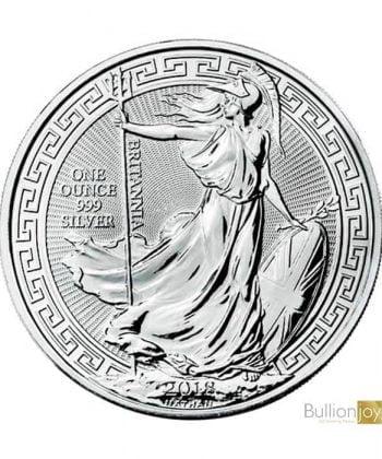 2018 1 oz Silver Britannia Oriental Border Coin