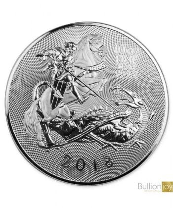 2018 10 oz The Valiant Silver Coin