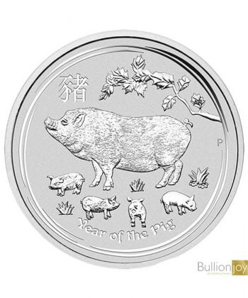 2019 1 oz Australian Lunar Year of the Pig Silver Coin