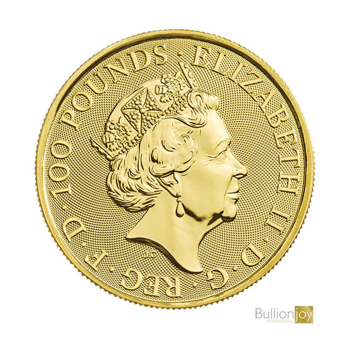 2019 1 oz Britannia Pure 999.9 Gold Coin