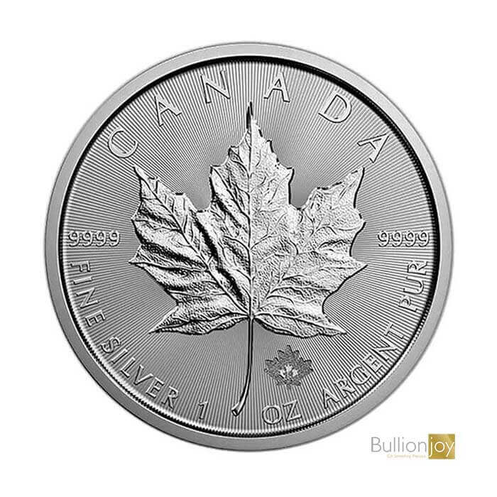 2019 1 oz Canadian Maple Leaf Silver Coin copy