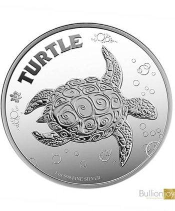 2019 1 oz Hawksbill Turtle Silver Coin