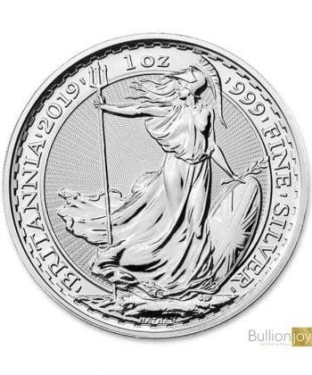 2019 1 oz Silver Britannia Coin 2