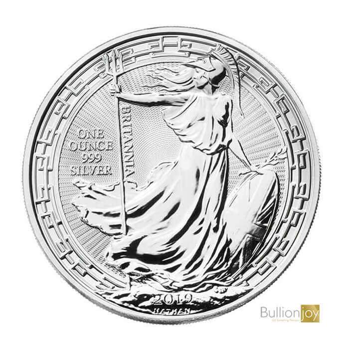 2019 1oz Britannia Oriental Border Silver Coin