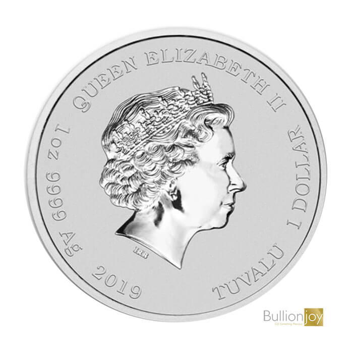 2019 1 oz Homer Simpson silver coin