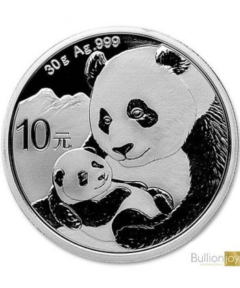 2019 30g Chinese Panda Silver Coin