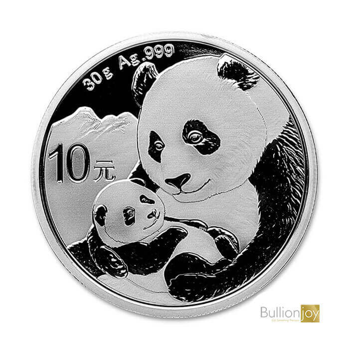 2019 30g Chinese Panda Silver Coin