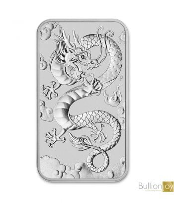 2019 Australian Dragon Rectangular Silver Bullion Coin 1oz