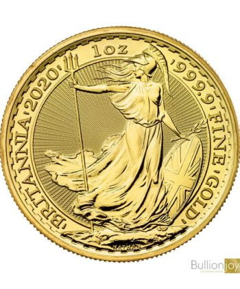 2020 1 oz Britannia Pure 999.9 Gold Coin