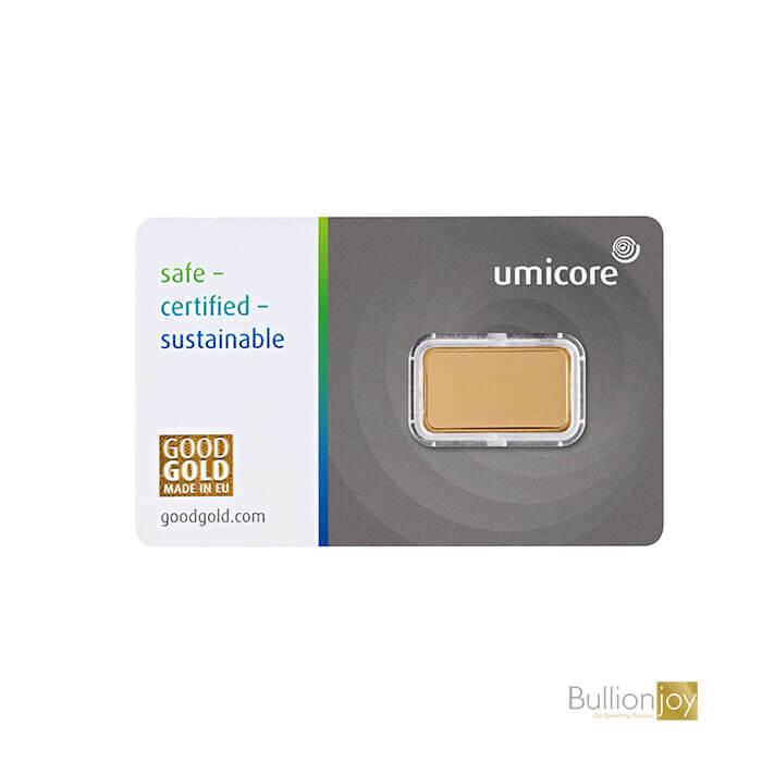 5 Gram Umicore Gold Bar