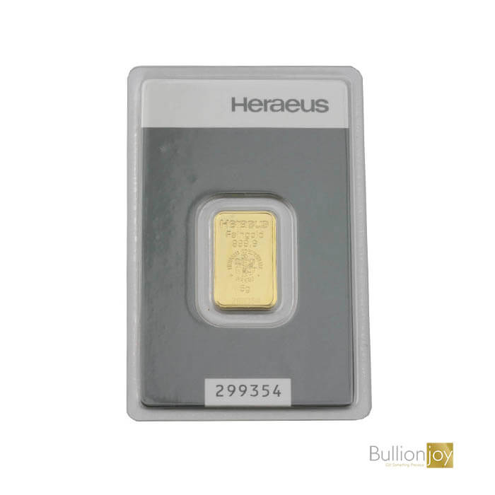 5g Gold Bar Heraeus