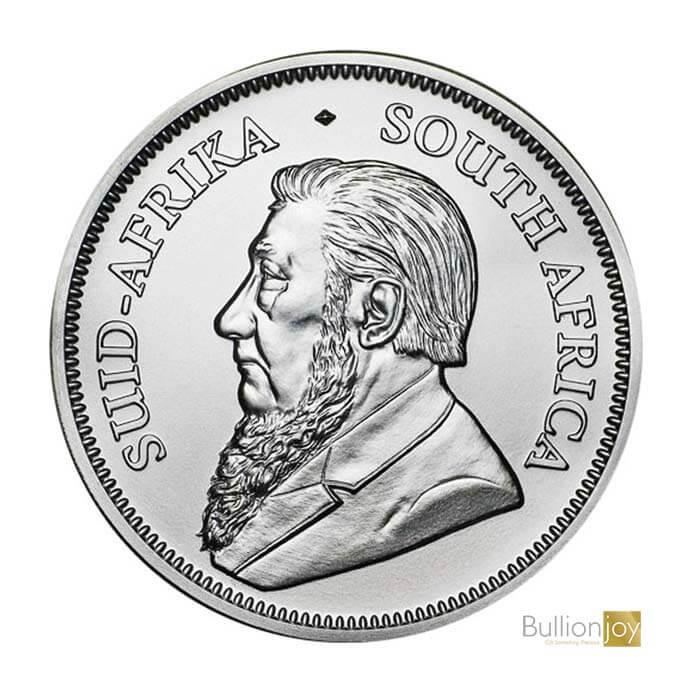 South African Krugerrand Silver Coin Bullionjoy
