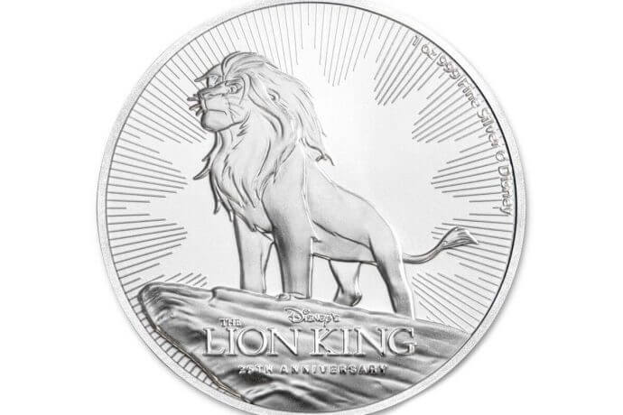 Lion King SILVER coin - BULLIONJOY