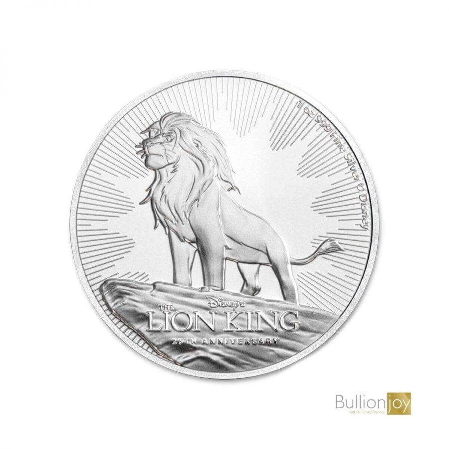 Lion King SILVER coin - BULLIONJOY