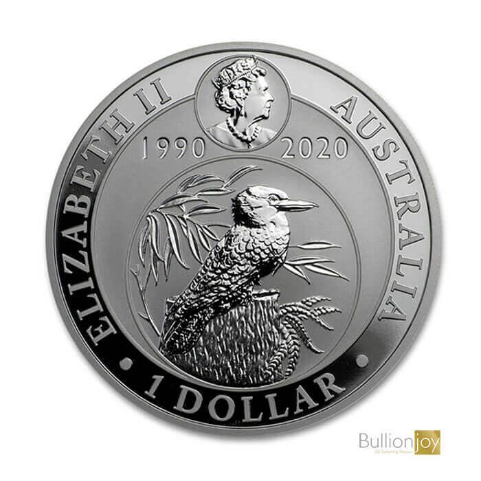 2020 1 oz Australian Kookaburra Silver Coin bj
