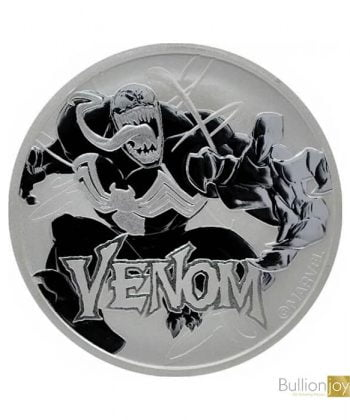 2020 1oz Venom Marvel Series Silver Coin