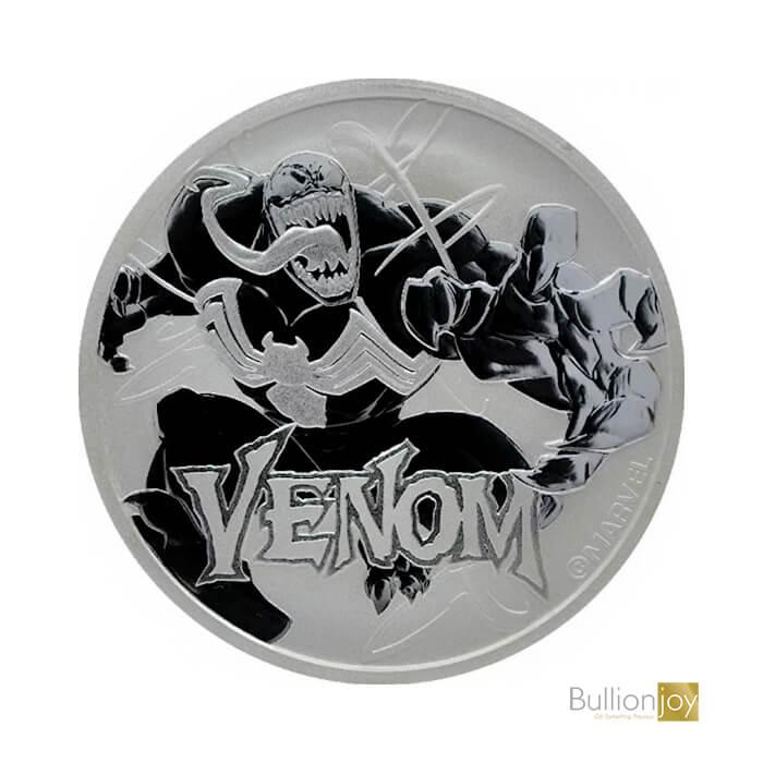 2020 1oz Venom Marvel Series Silver Coin