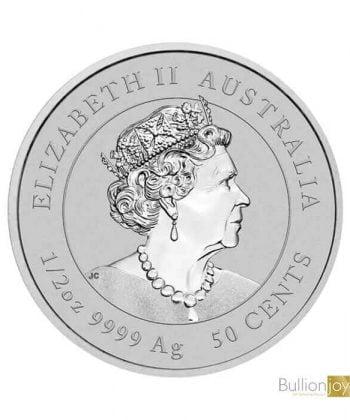 2020 1/2 oz Australian Lunar Mouse Silver Coin