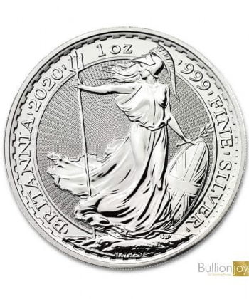 2020 1oz Britannia Silver coin