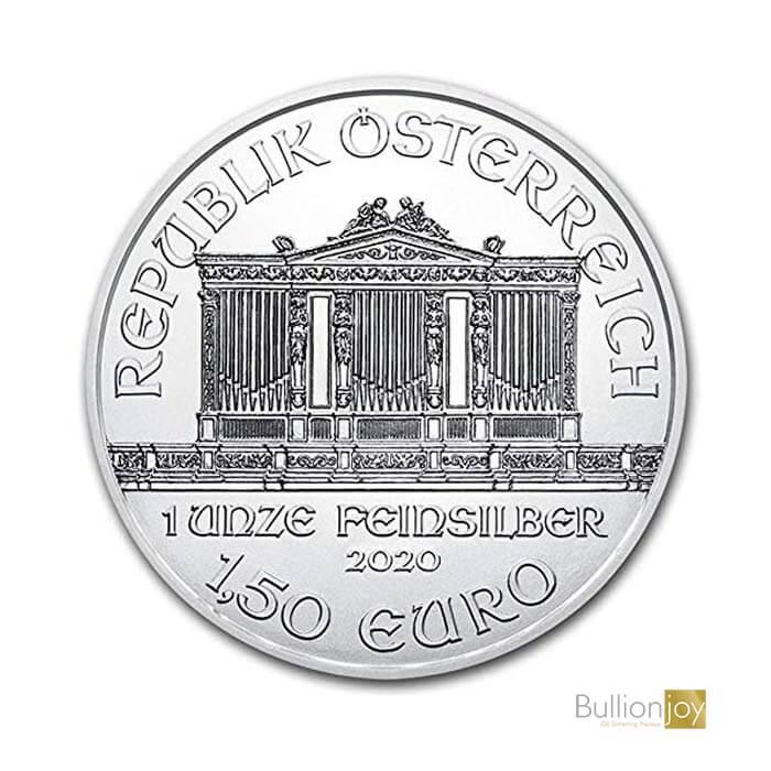 2020 1 oz Austrian Silver Philharmonic Silver Coin
