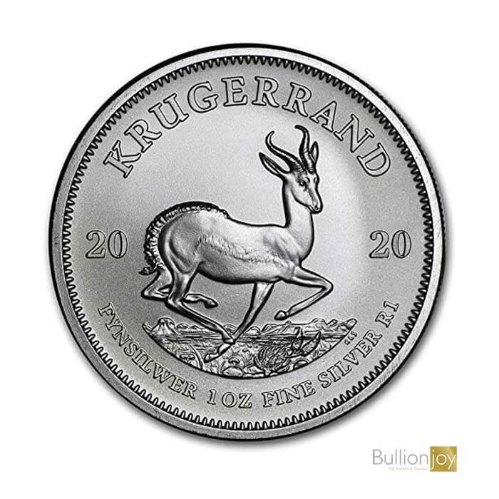 2020 1 oz South African Krugerrand Silver Coin Bullionjoy