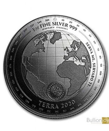 2020 Tokelau 1 oz Silver coin $5 T