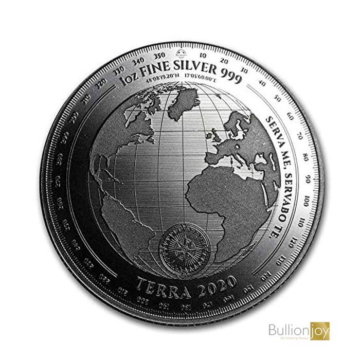 2020 Tokelau 1 oz Silver coin $5 T