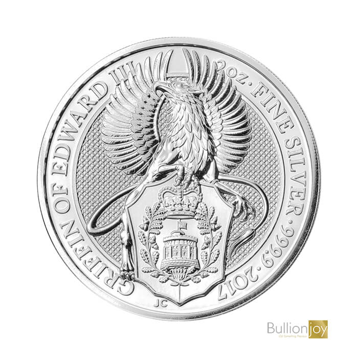2017 2oz Silver Queen's Beasts The Griffin