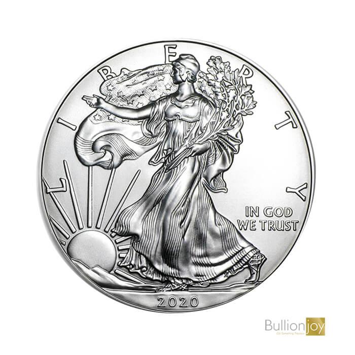 2020 1 oz Silver American Eagle Bullionjoy1