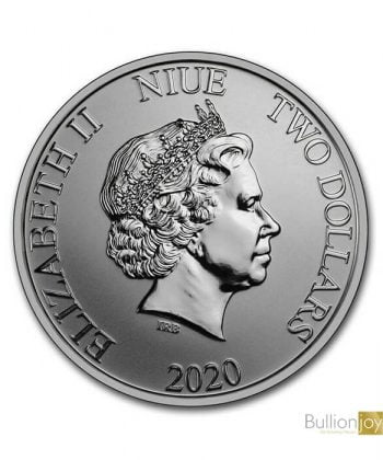 2020 1oz Mickey & Minnie Mouse Disney Coin