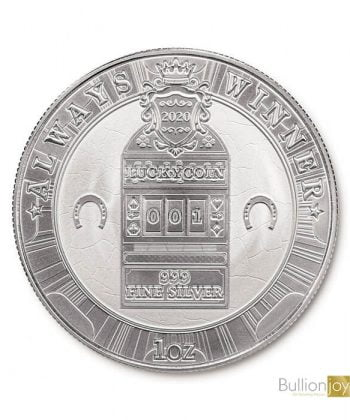 2020 SOUTH KOREAN LUCKY COIN 1 OUNCE SILVER BULLION COIN