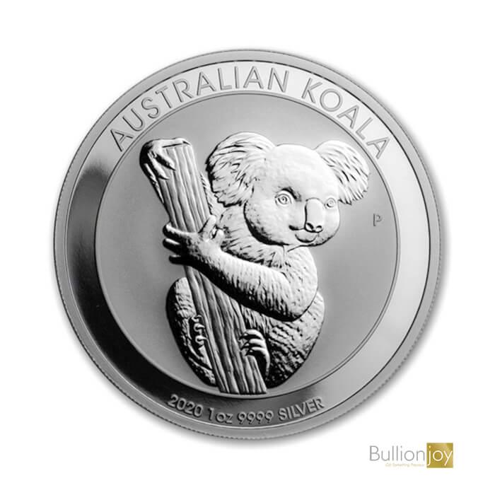 2020 1oz Australian Koala Silver Coin