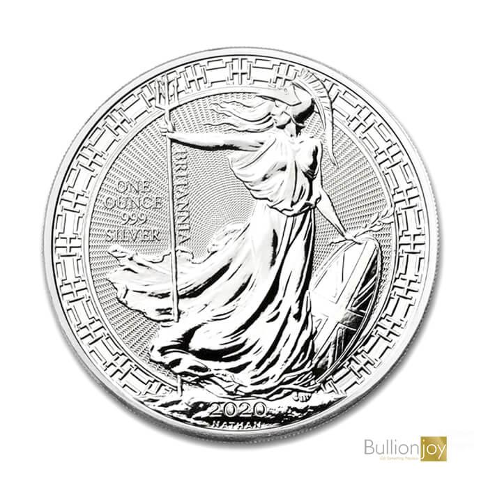 2020 1oz Silver Britannia Oriental Border Coin Bullionjoy United Kingdom