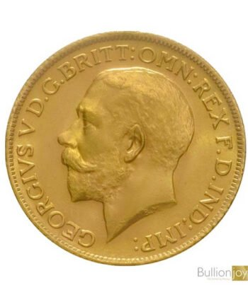 1911 Full Gold Sovereign KingGeorge V Coin