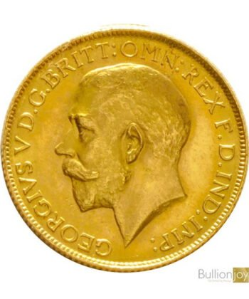 1925 Full Gold Sovereign King George V SA Coin