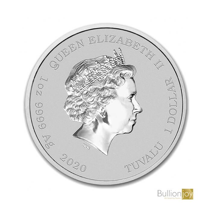 2020 1oz James Bond 007 Silver Coin