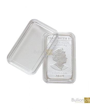 Dragon Rectangle Silver Coin Capsule