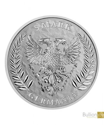 2019 1oz Germania 5 Mark Silver Coin