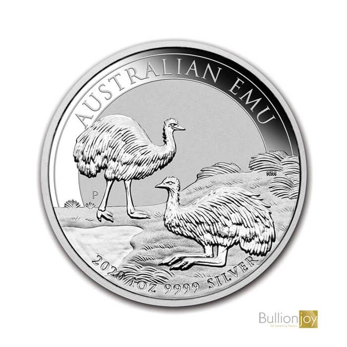 2020 1oz Australian Emu Silver Coin